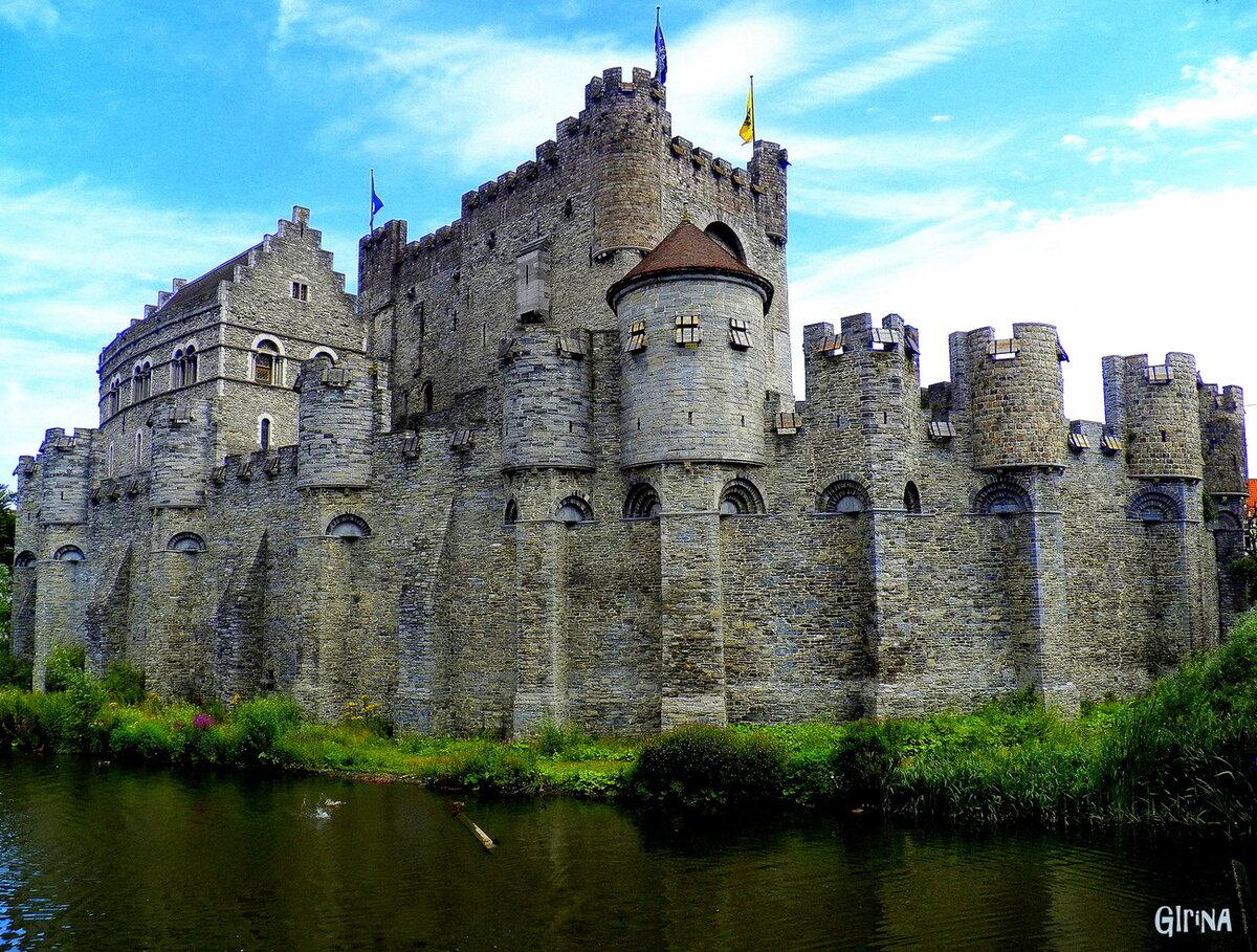 Картинки замки рыцарей средневековья