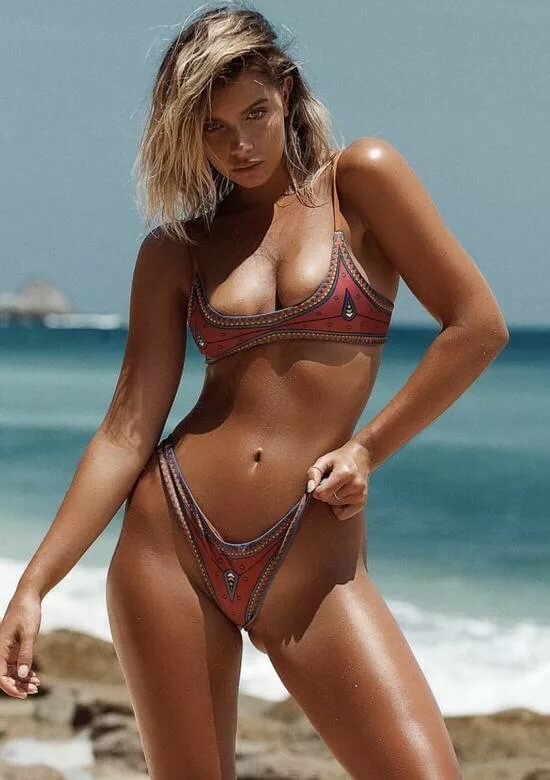 Micro bikinis beach