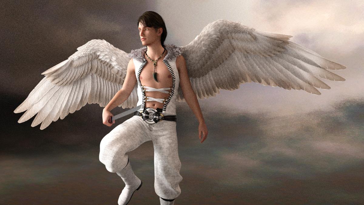 Ангелы картинки красивые парни
