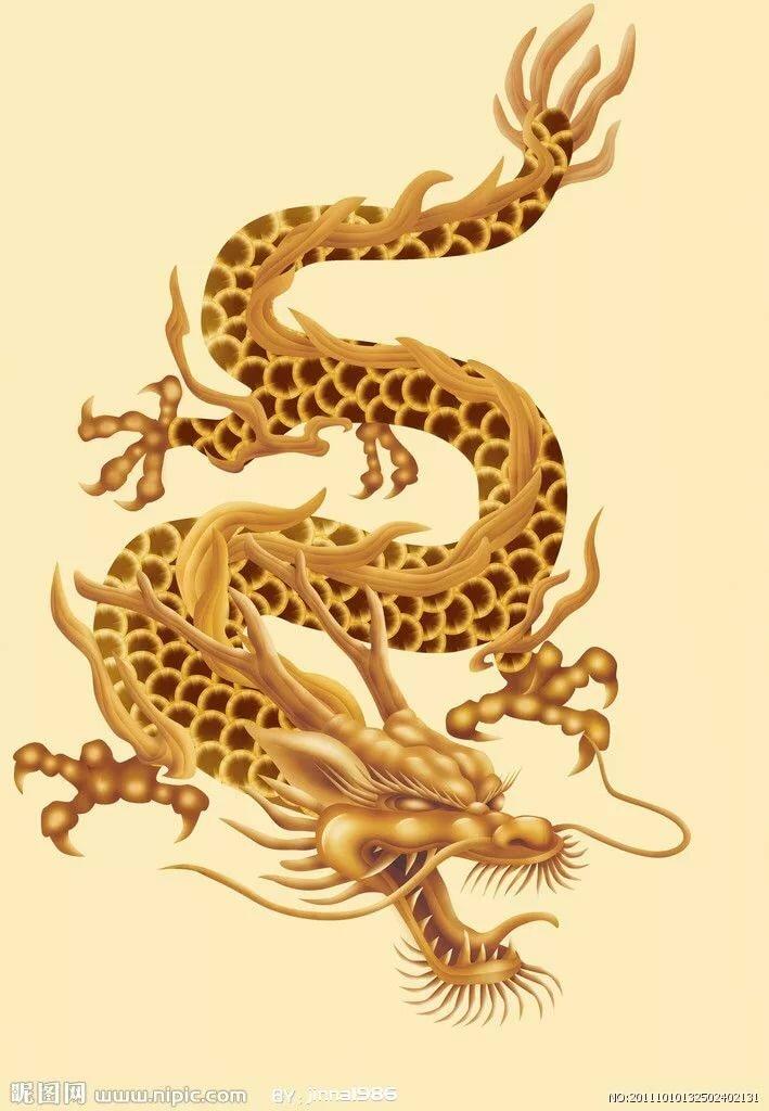 Картинки китайским большим драконом