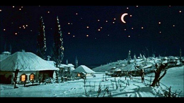 """""""Ночь перед Рождеством"""". Мультфильм 1951 года"""