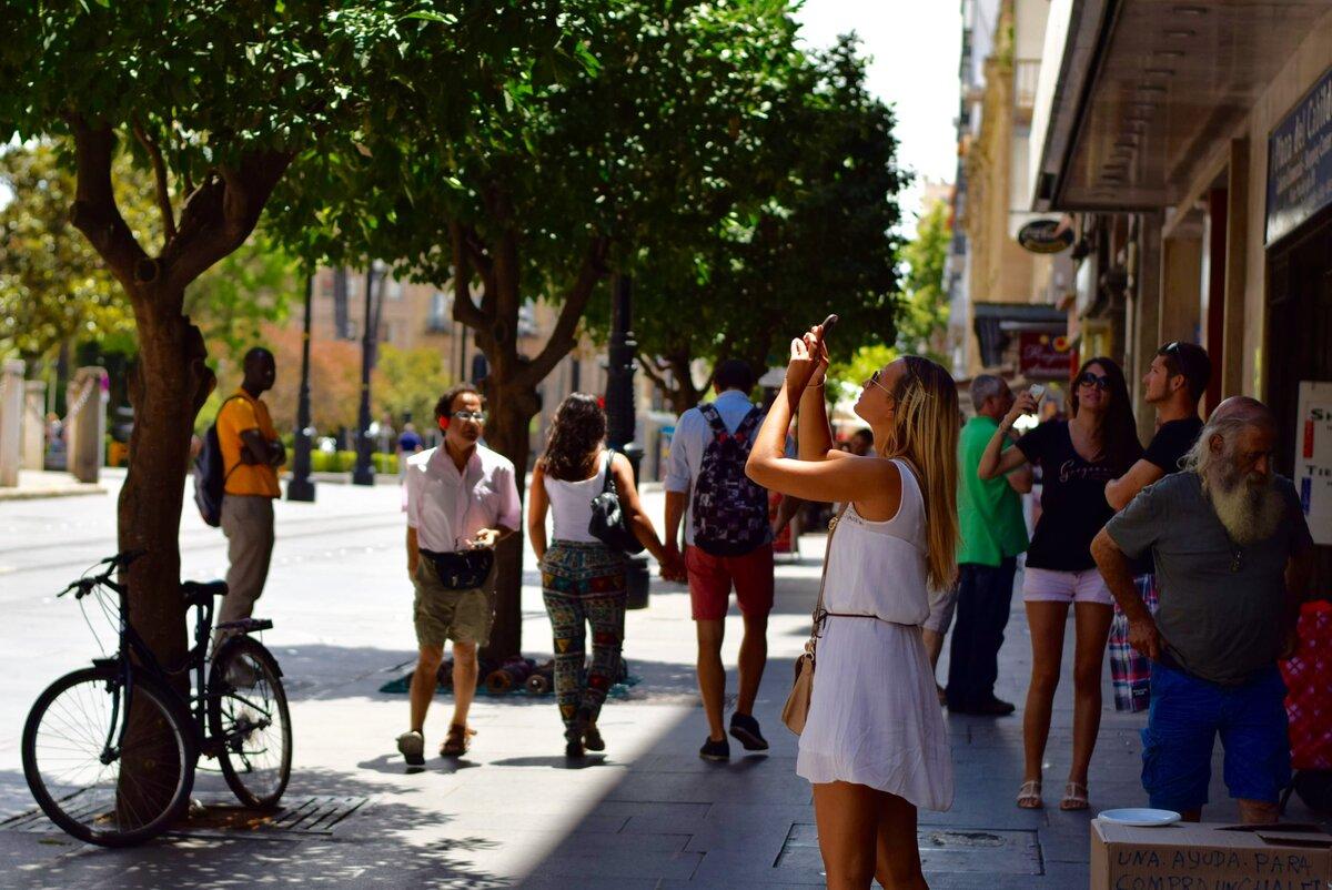 фото с людьми на улице алмазною тропой