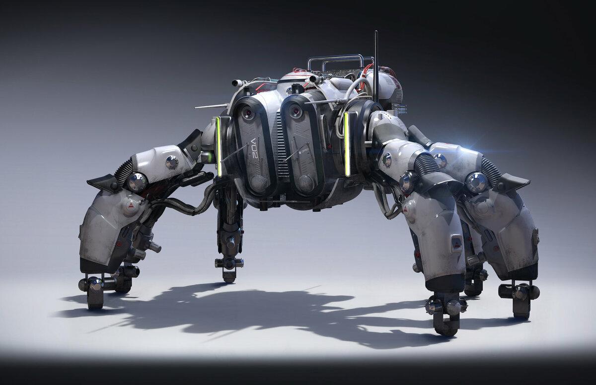 Роботы из будущего картинки