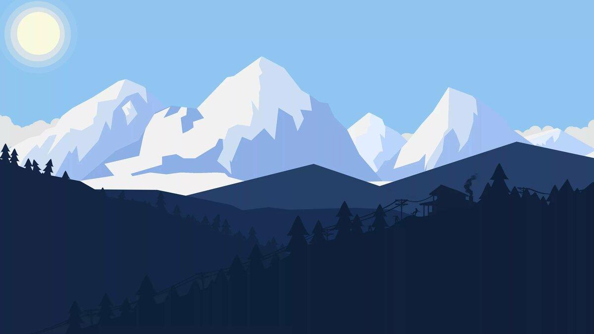 Обои на андроид минимализм пейзажи