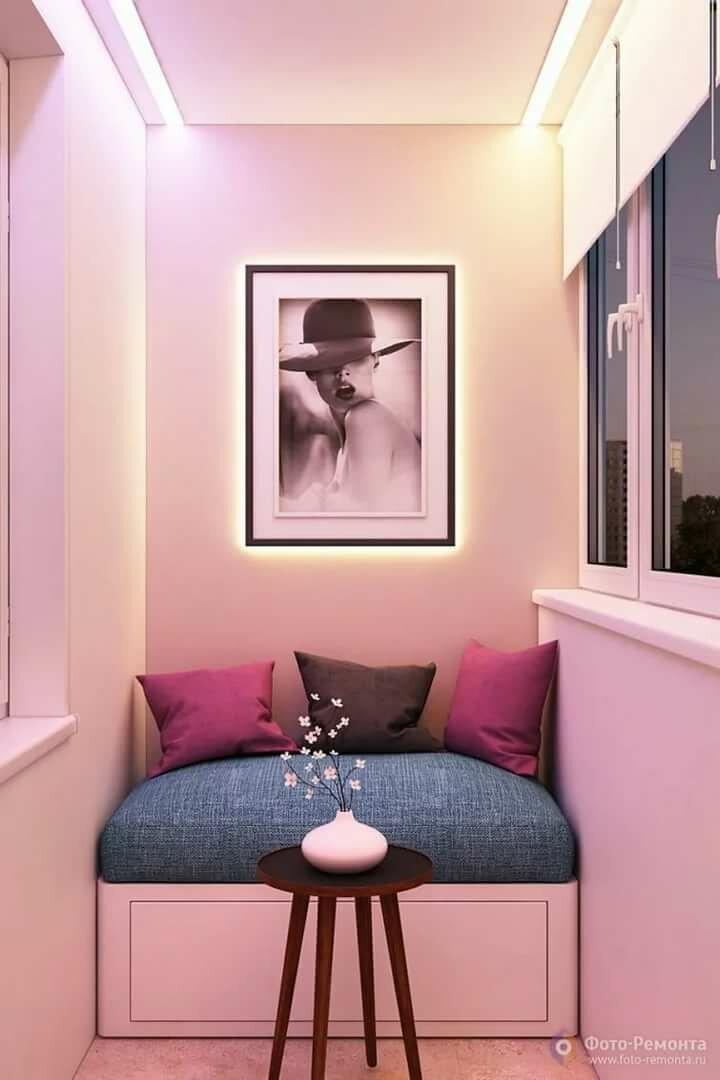 розовый балкон фото высыпаний