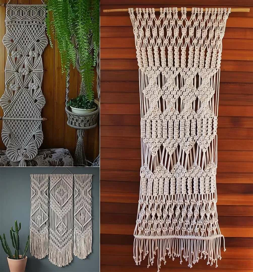 мнению малороссов, макраме фото и схемы плетения панно забор это изгородь