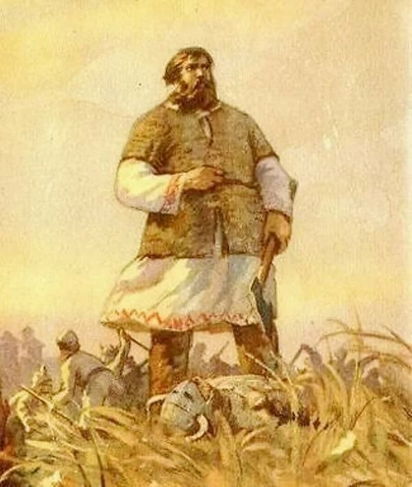 Картинка мужчин на руси