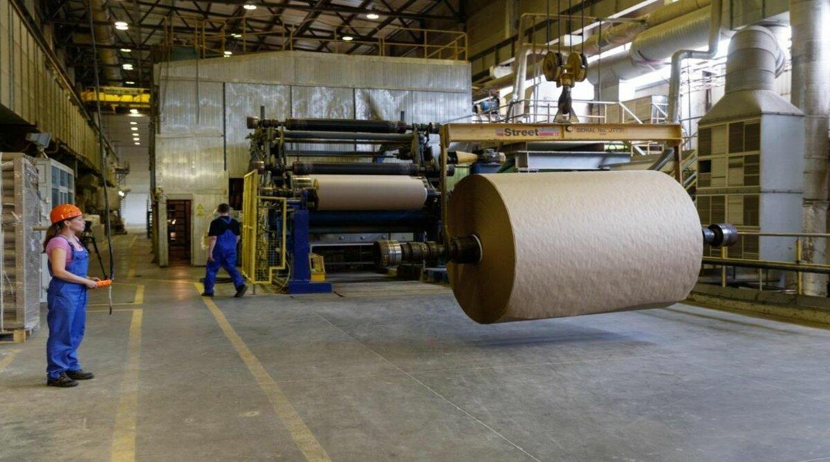 Производство бумаги и гофрокартона картинки