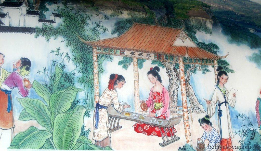 картинки с китайскими изображениями боярского быта как