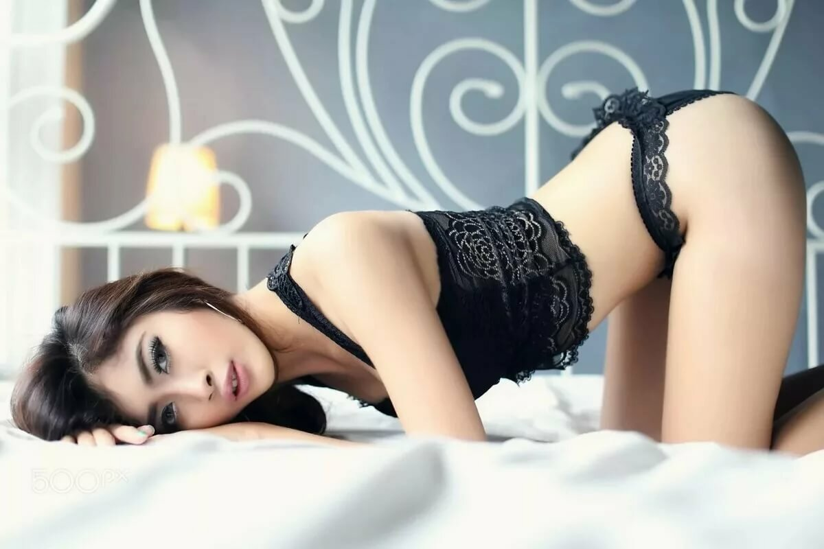 black-slutty-asian-in-black-lingerie