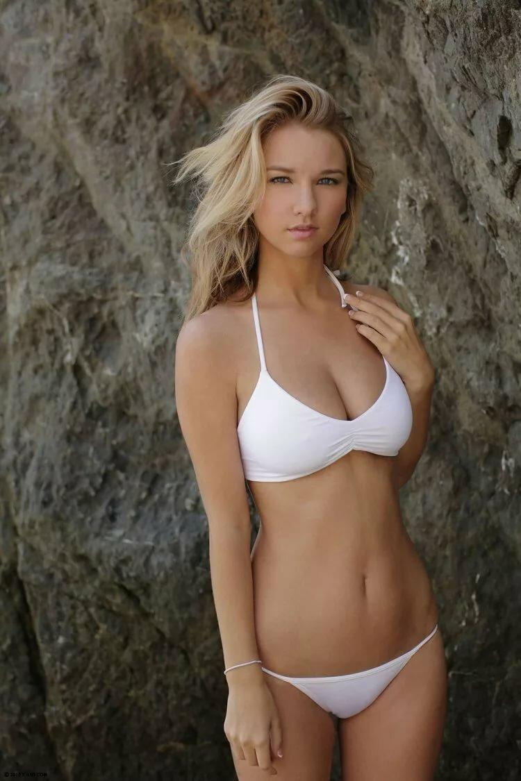 Petite Blonde Bikini