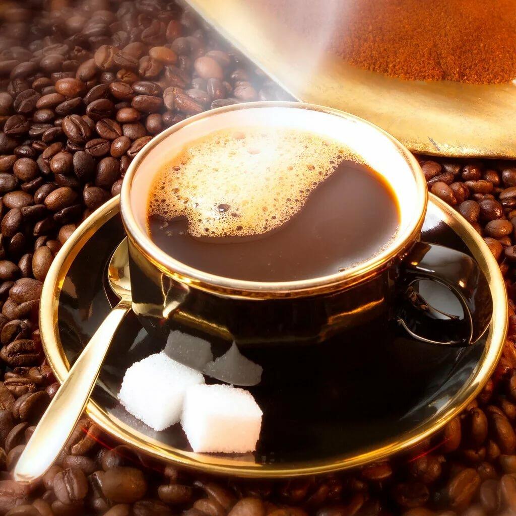 Кофе фото анимация