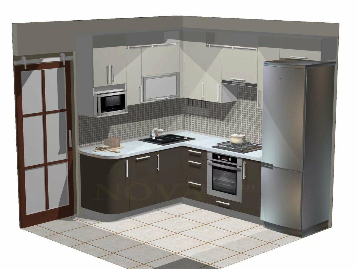 кухни под углом картинки очень