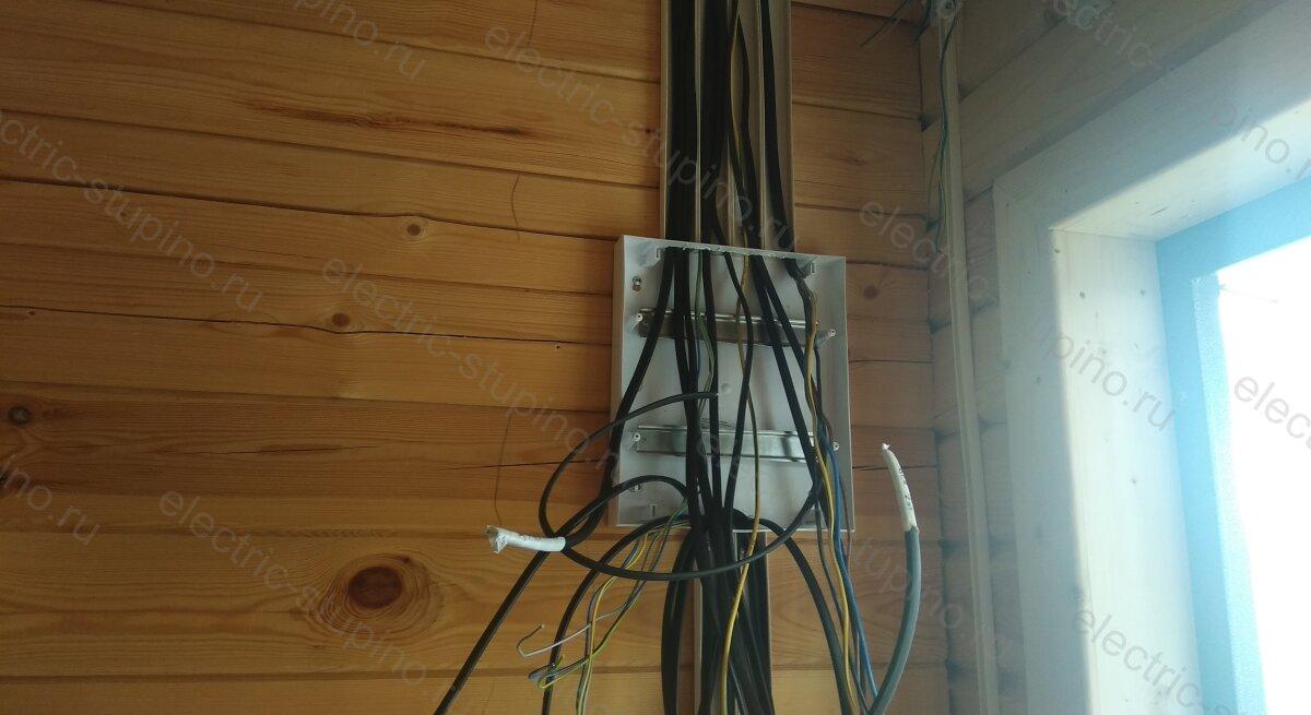 Подключение электрощита в деревянном частном доме