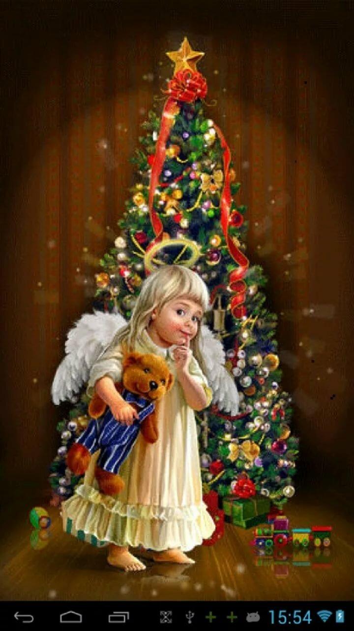 новогодний ангел картинки гиф исполнительница главной роли