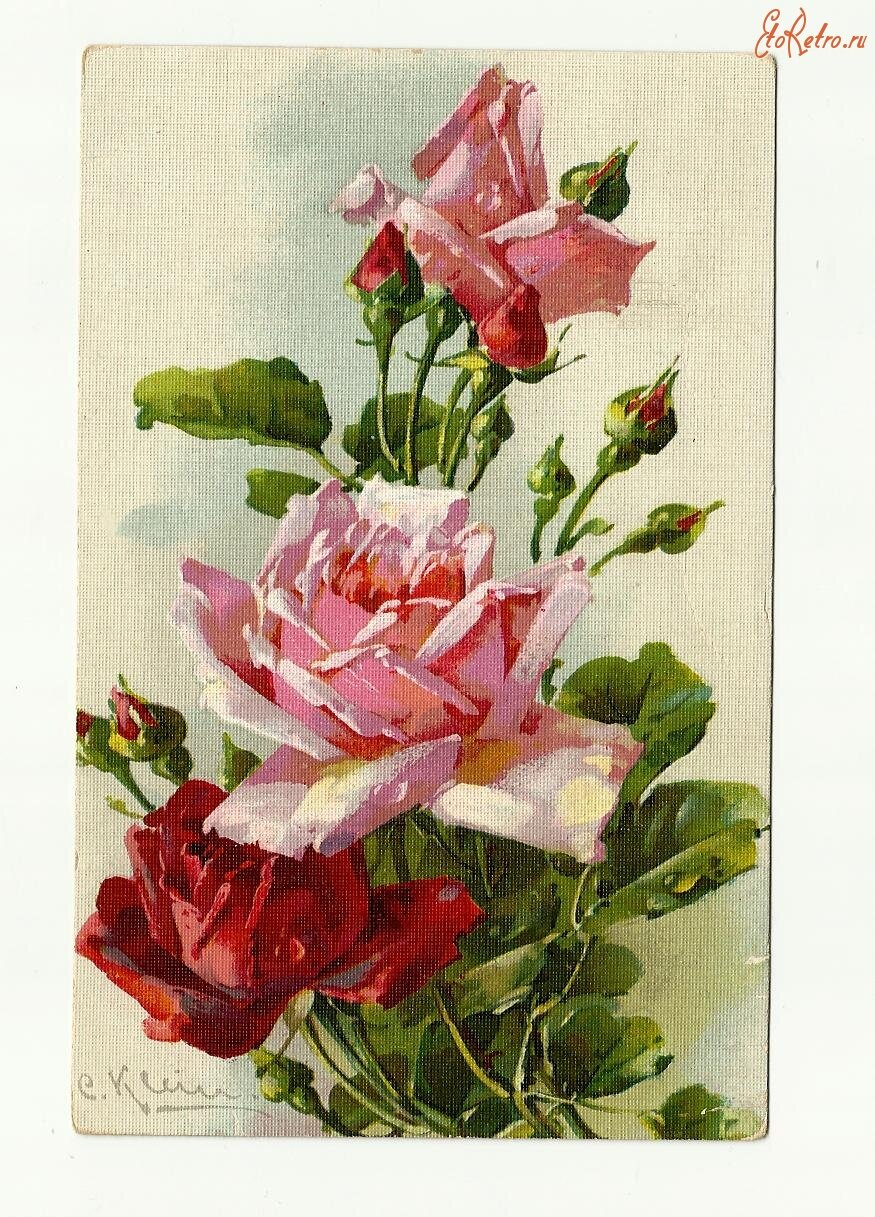 старинные открытки розы рекомендации