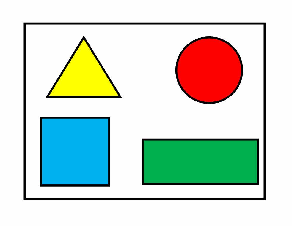Картинка квадрат прямоугольник круг треугольник