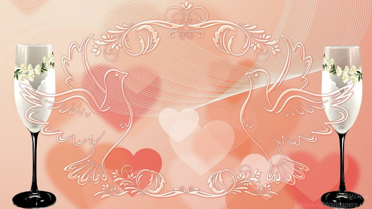 Картинки для слайдов презентации свадьбы