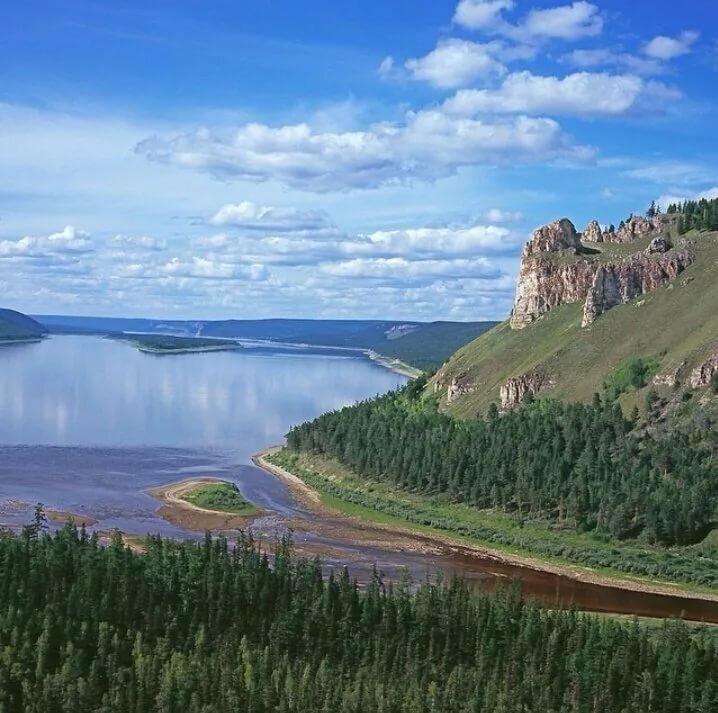 река лена фото пейзажи эти признаки