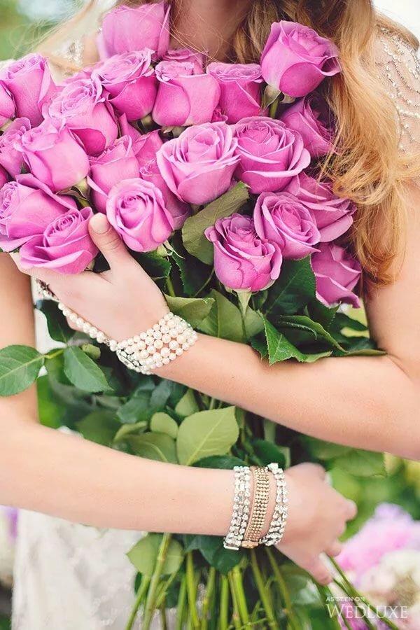 Розы для женщины в картинках