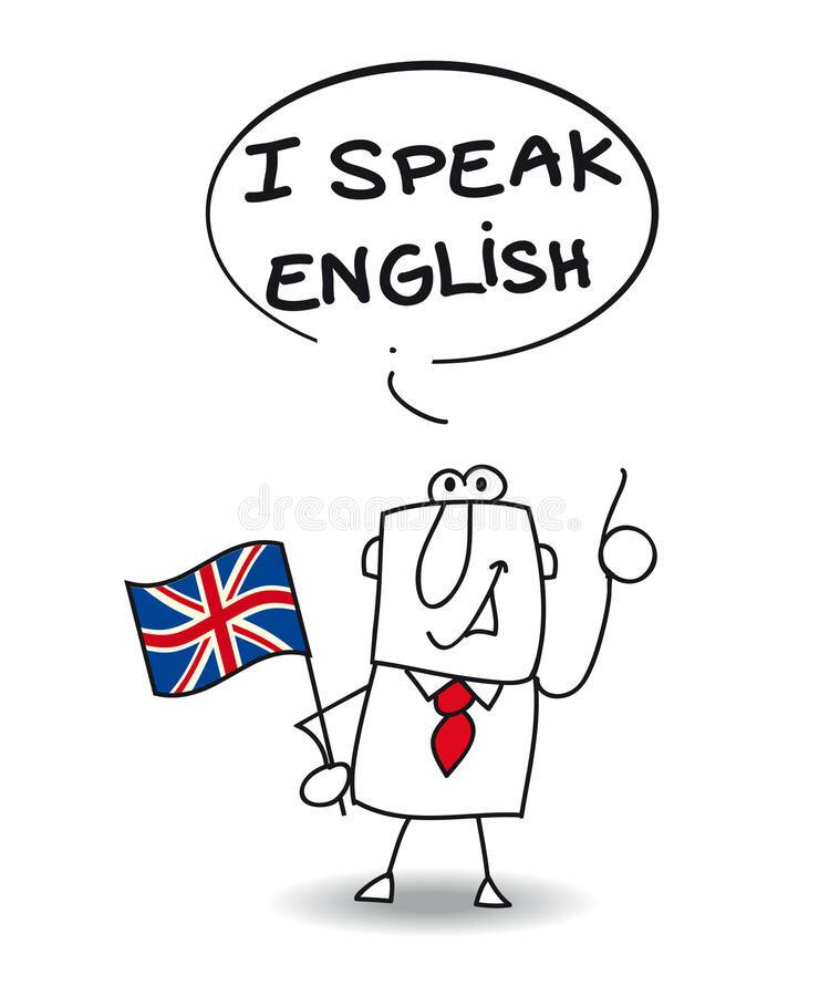 картинка как я разговариваю на английскому или иначе