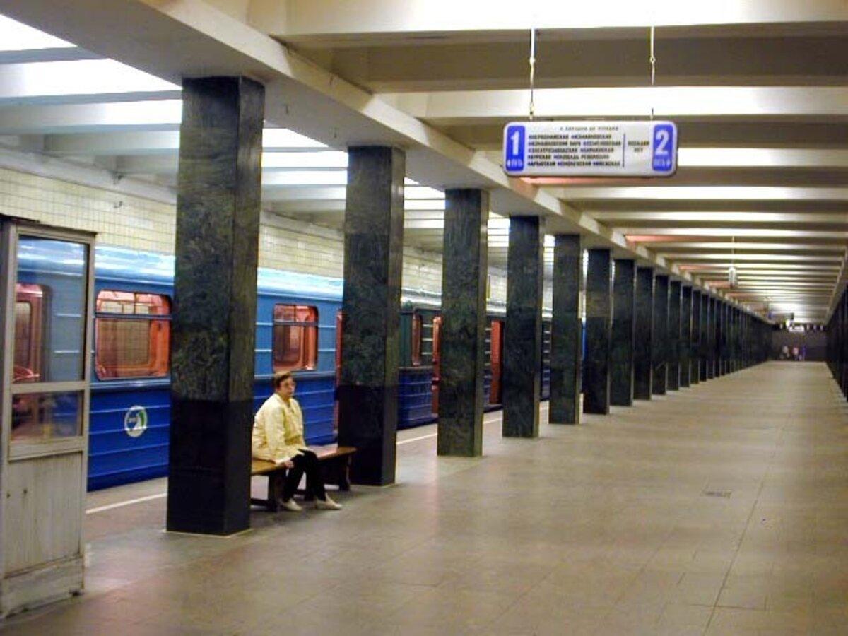 метро щелковская картинки