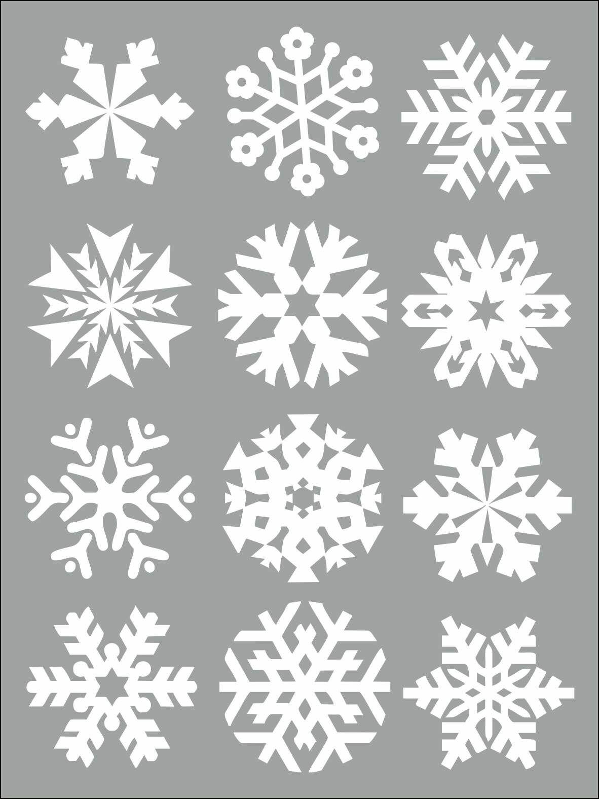 трафареты на снежинки все картинки может сказать что