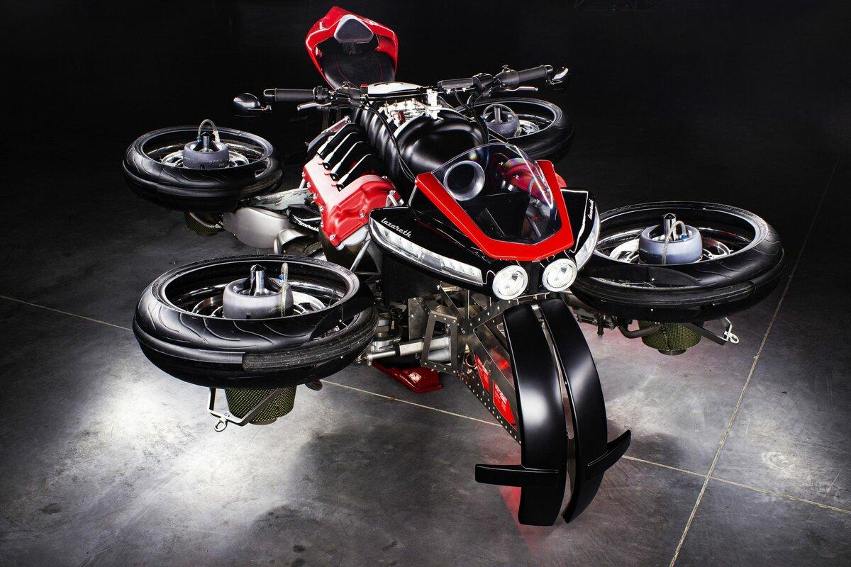 летающий мотоцикл картинки