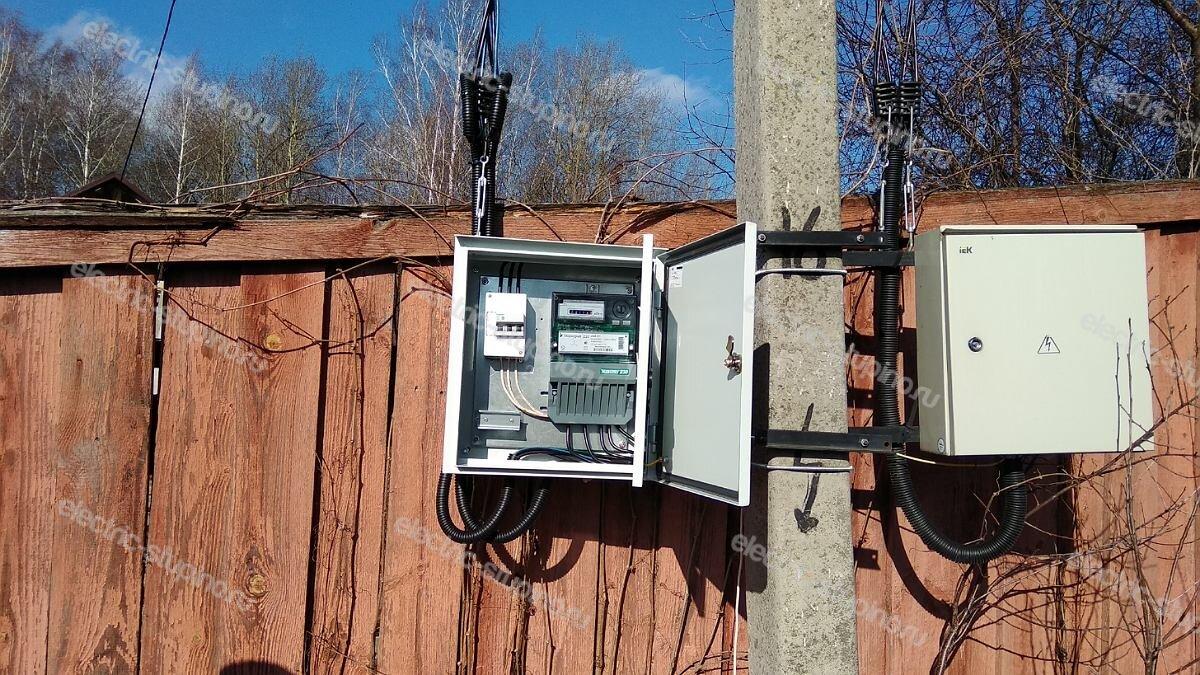 Выполнение технических условий 15 кВт для частного дома в Ступинском районе д Верзилово