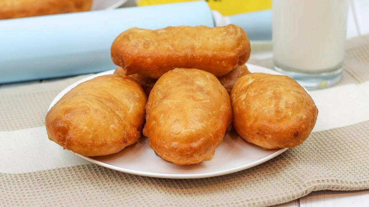 Рецепт жареных пирожков в картинках