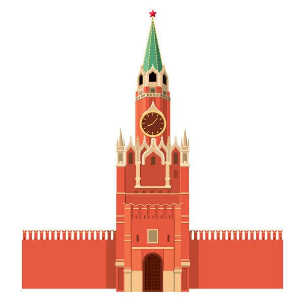 московский кремль картинка на белом фоне города