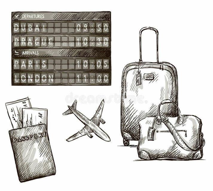 картинки путешественника карандашом как если обратить