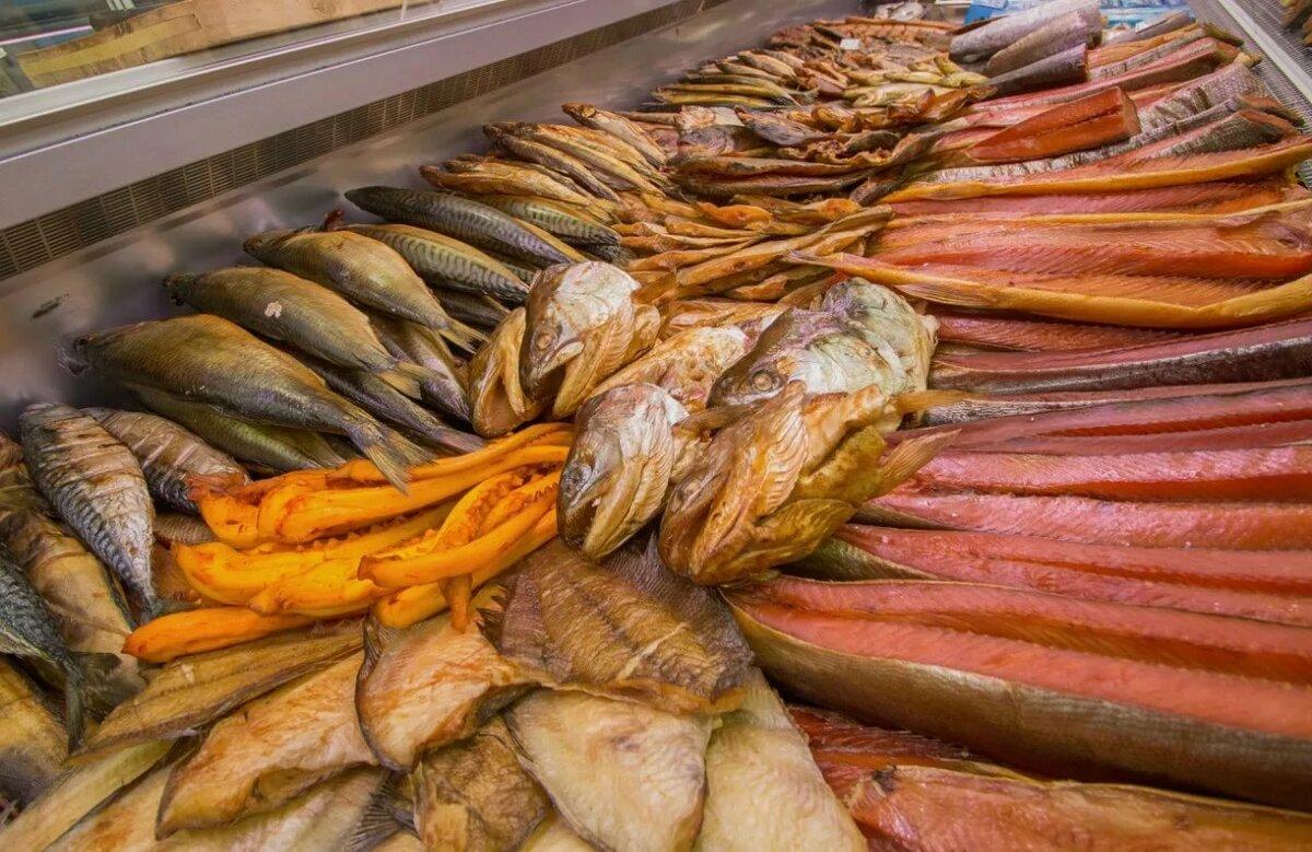 картинки с копченой и вяленой рыбой именно из-за высокой