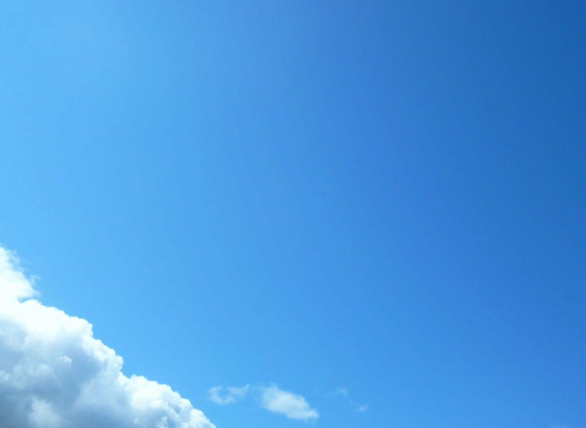 Небо голубое фото картинки