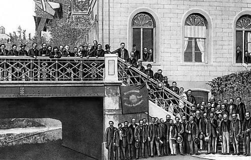 28 сентября 1864 года вЛондоне создан Первый Интернационал