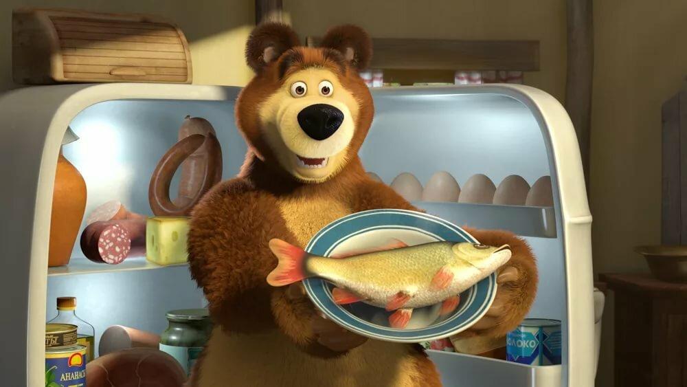 паразитов картинки маша и медведь с едой торжественное