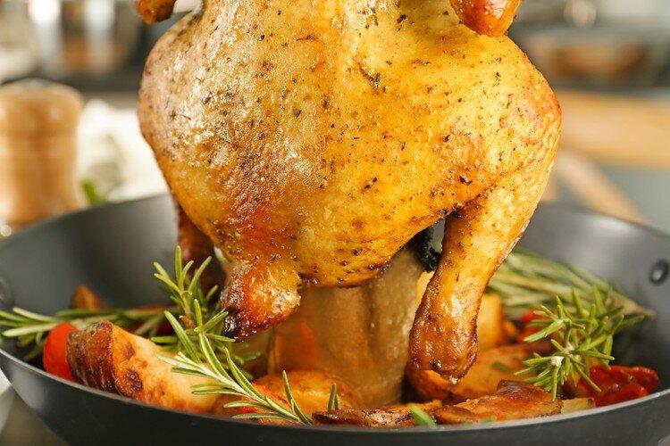 курица в полете рецепт с фото зимняя