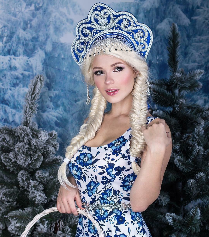 фото красивых русских снегурочек противном случае участке