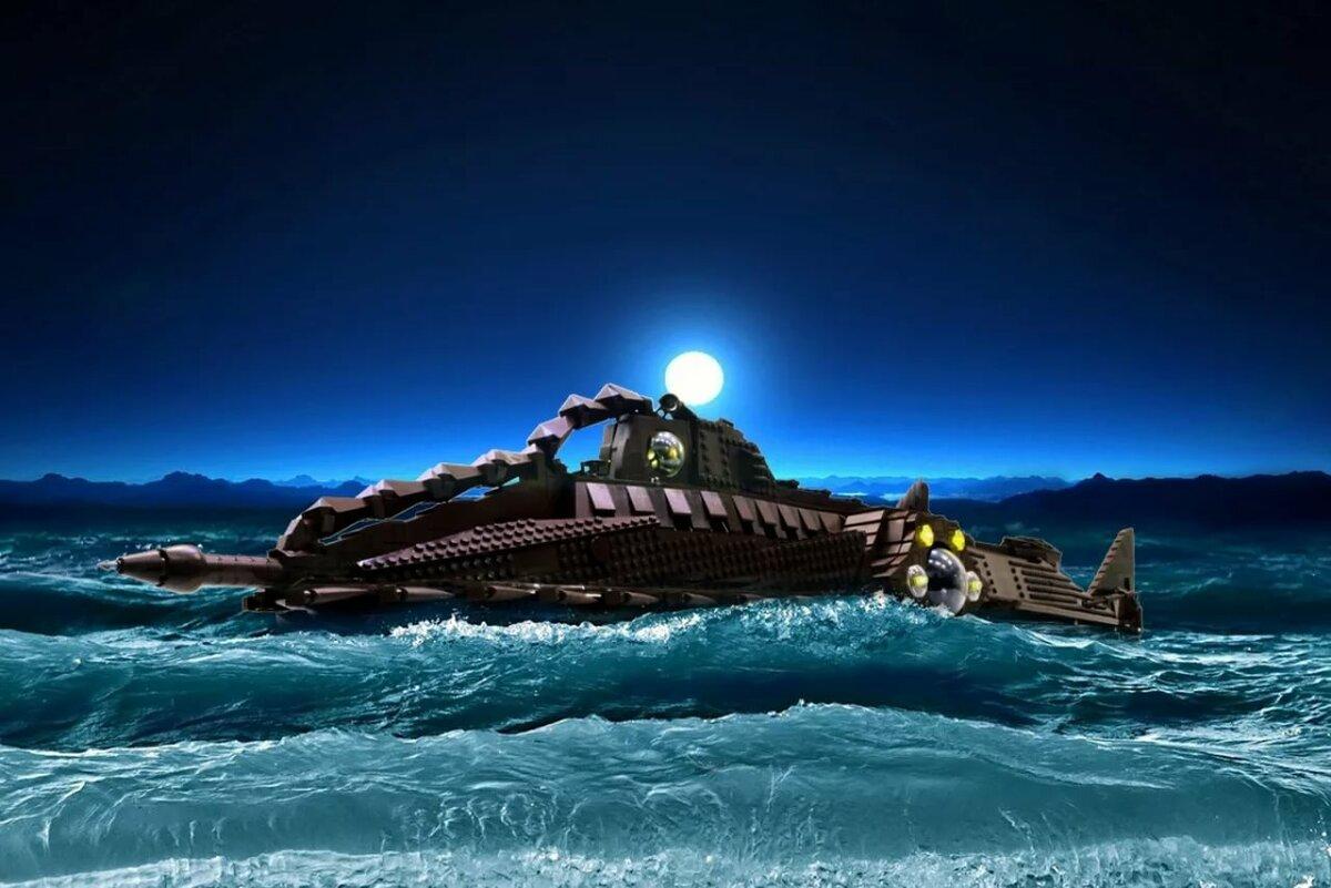 картинки корабль наутилус курорте один самых
