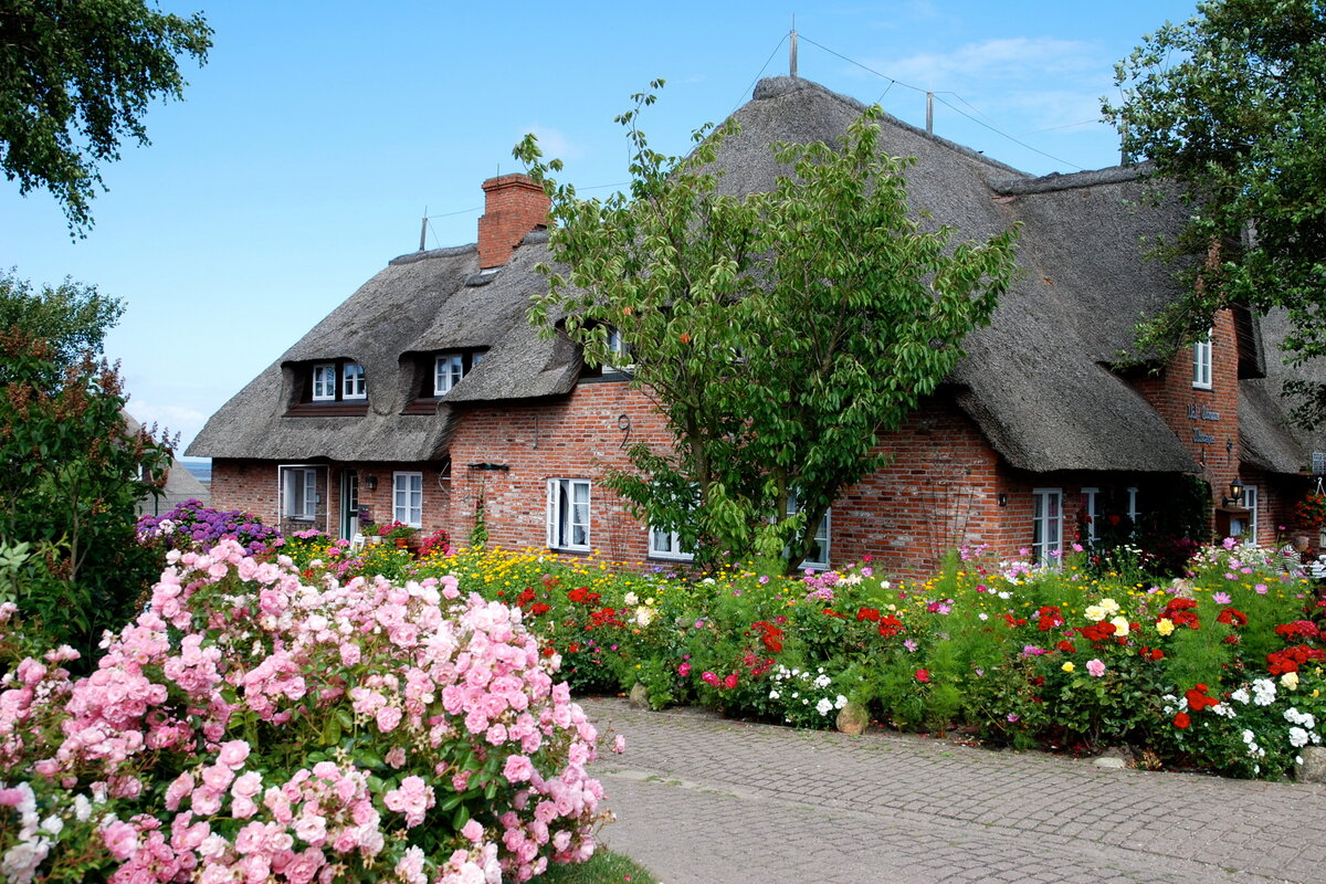 Современные европейские деревни фото