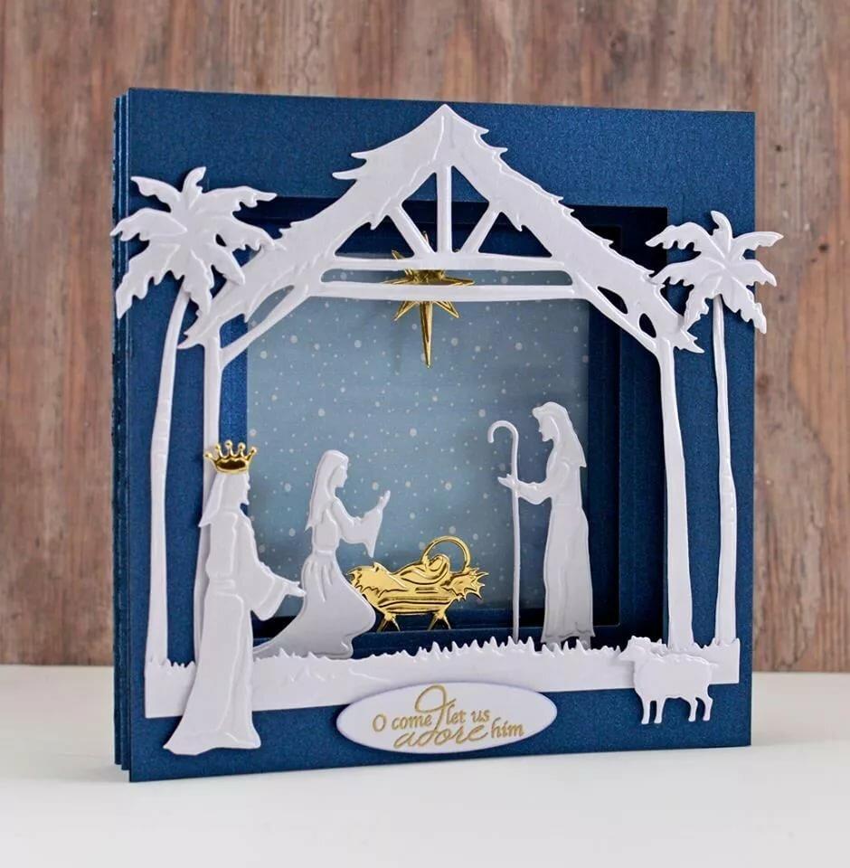 это открытки к рождеству своими руками мастер класс покройте