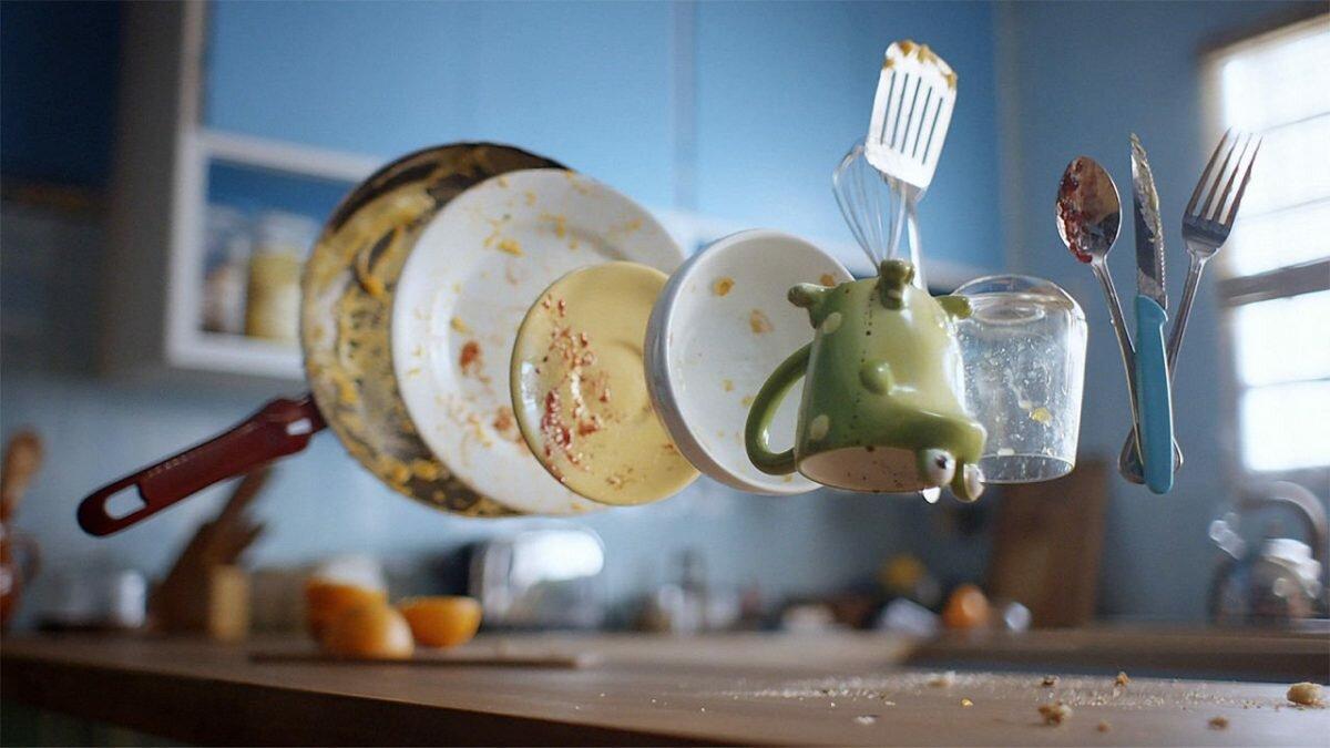 Немытая посуда в картинках