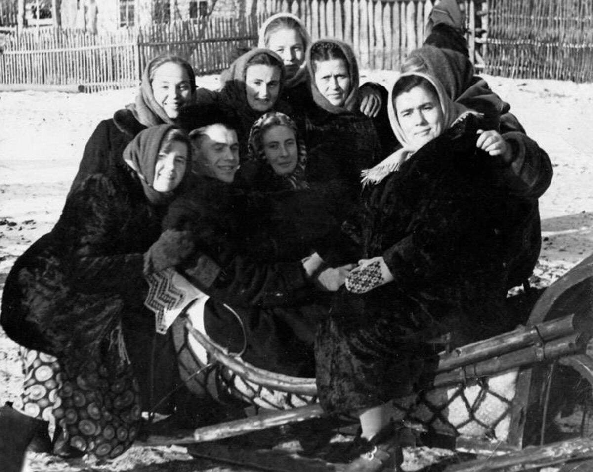Праздник на селе 1970е