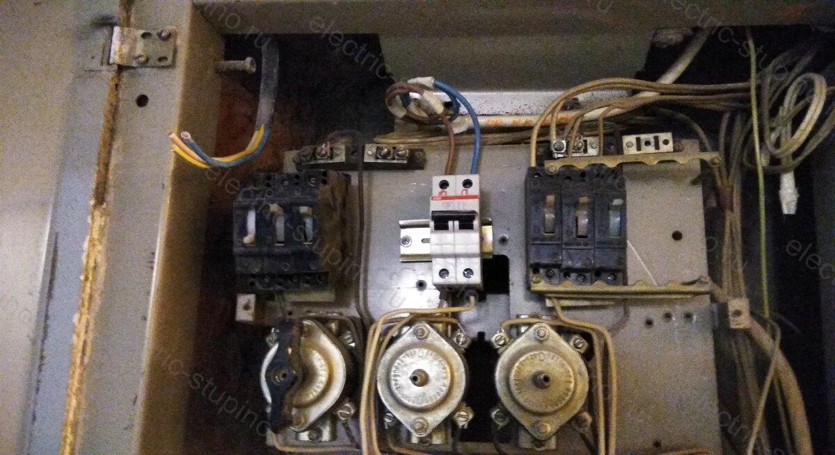 Замена автоматов в этажном щитке устройство электрощита