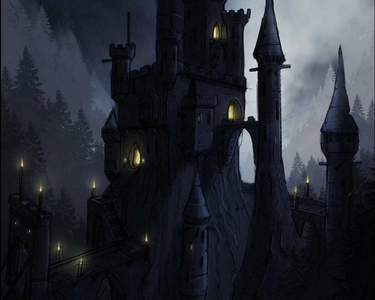 замок ведьм картинки прославленного