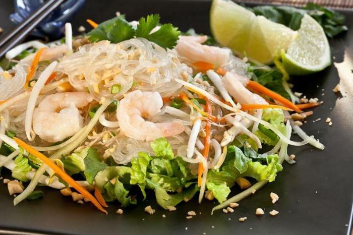 Фунчоза из морепродуктов рецепты с фото