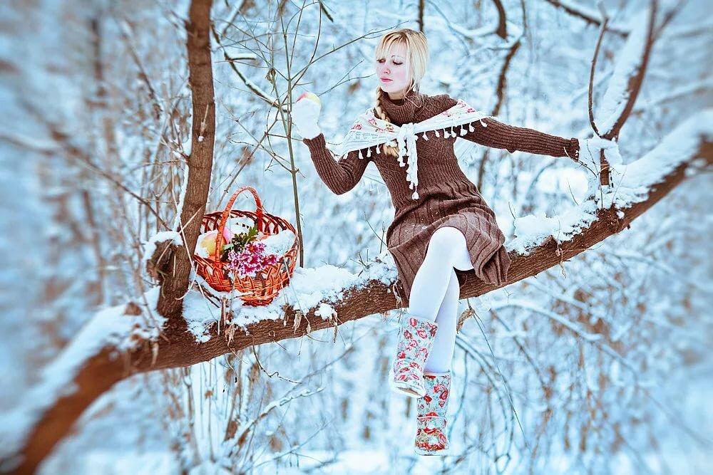 мера зимние фотосессии в краснодаре себя