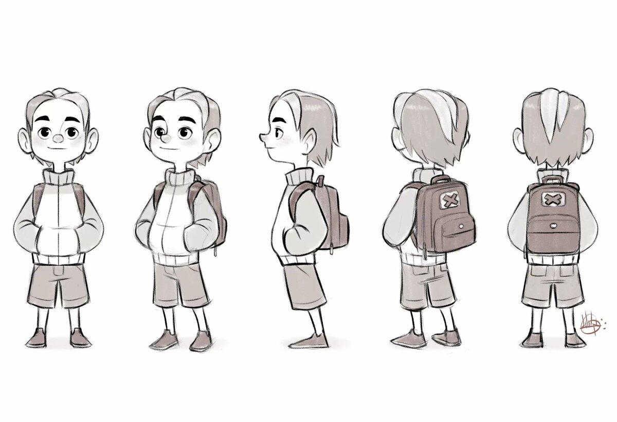 Мультяшные персонажи для анимации картинки
