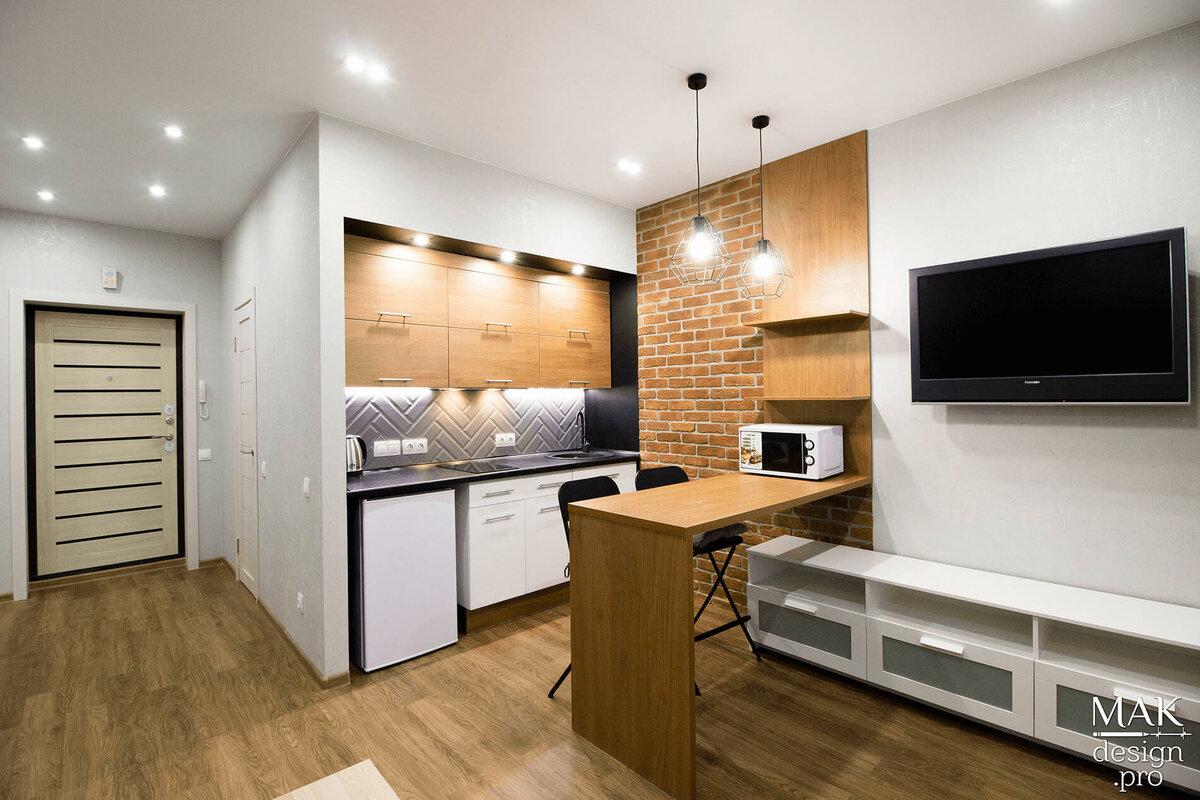 проект отделки квартиры студии фото