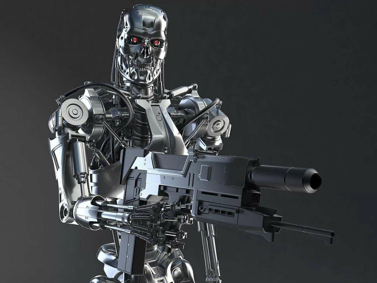 терминатор фото всех роботов или
